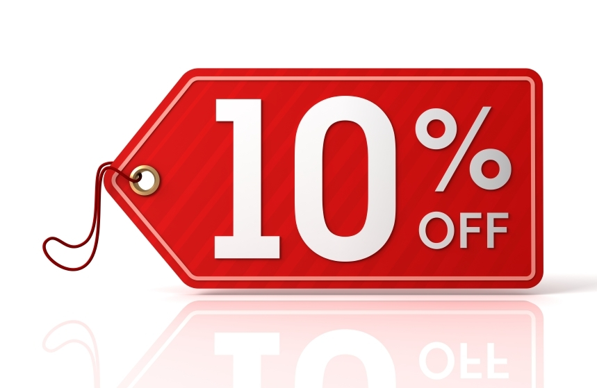 10% OFF on MOT